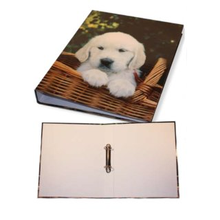 Ringmappe DIN-A4 Hundebaby