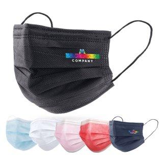 MNS Maske - Hygienemaske mit 4/0 farbigem Druck
